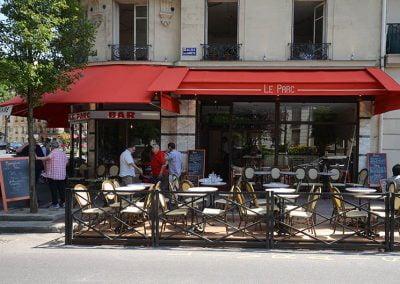 Rénovation d'une brasserie à Clichy (92)