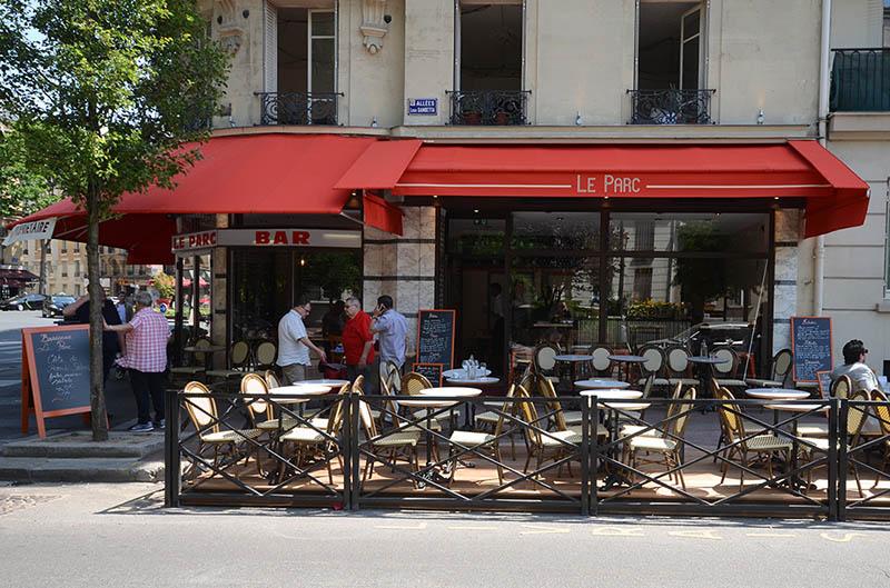 Travaux de rénovation d'une brasserie restaurant à Clichy