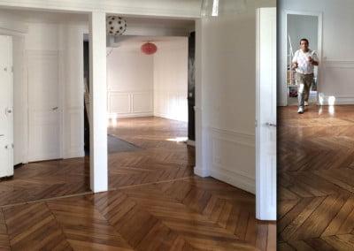 Rénovation d'un appartement F4 Paris 17e
