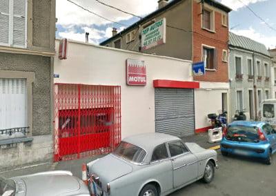 Rénovation de la toiture d'un garage auto à Montreuil