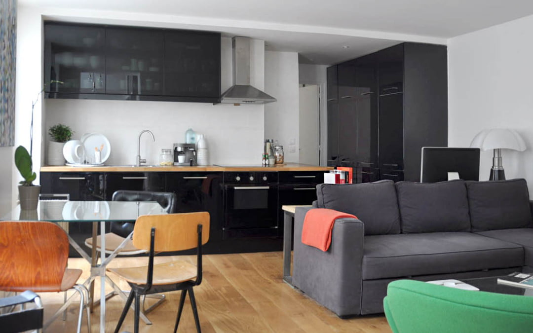 Rénovation d'un appartement de 55 m2 à Paris