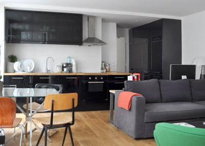 Rénovation d'un appartement de 55 m2 à Paris