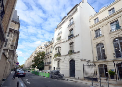 Travaux de rénovation d'un appartement àParis 7