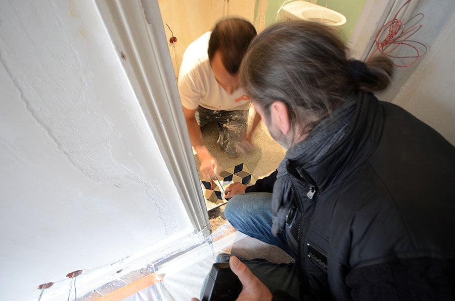 Suivi de chantier pour des travaux de rénovation, Paris 7