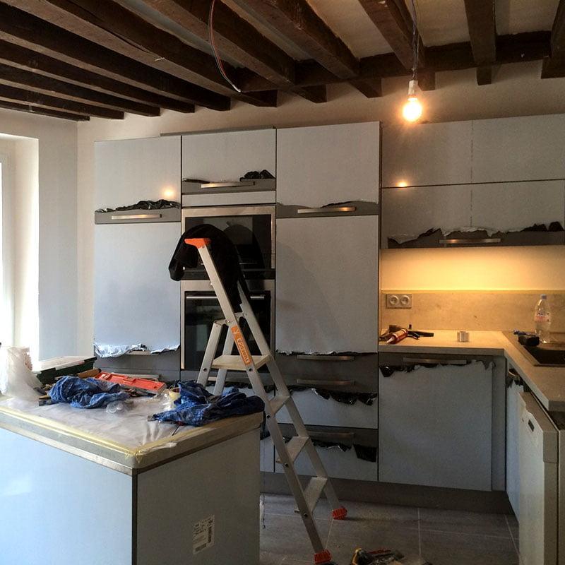 renovation electrique maison ancienne good petite astuce pour bien drouler les gaines sinon. Black Bedroom Furniture Sets. Home Design Ideas