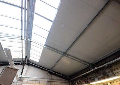R novation d 39 une toiture de garage auto montreuil for Isolation toiture garage