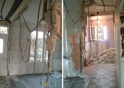 Travaux de rénovation à Ezanville
