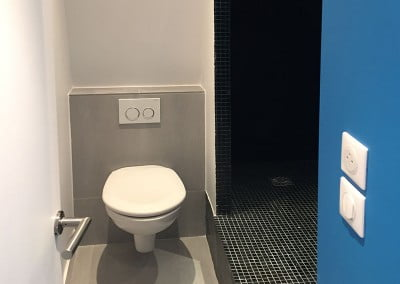 Toilette et douche