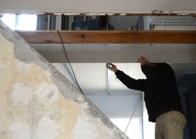 Pose faux-plafond