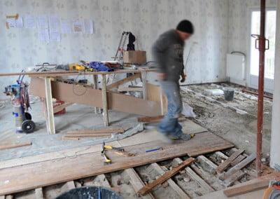 Travaux de rénovation plancher à Ezanville