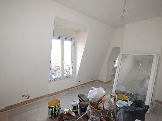 travaux d 39 am nagement de trois chambres de bonne paris 17. Black Bedroom Furniture Sets. Home Design Ideas