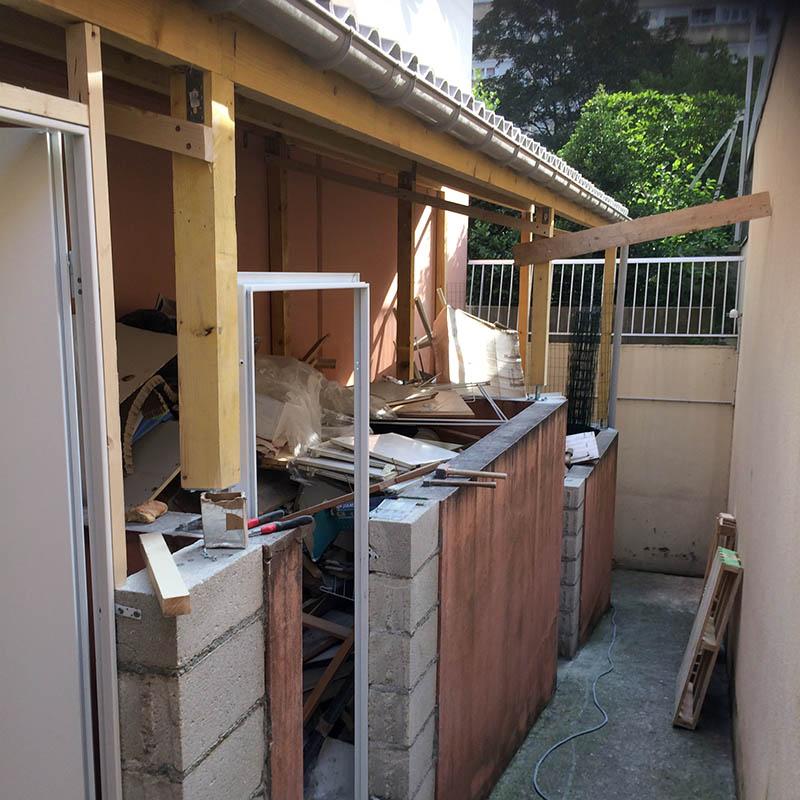 Petit travaux de construction maçonnerie