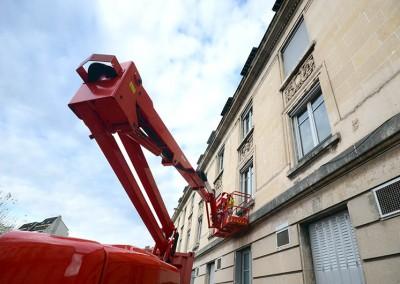 Changement des fenêtres de la Gare de Limoges