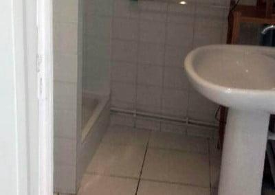 Douche de l'appartement