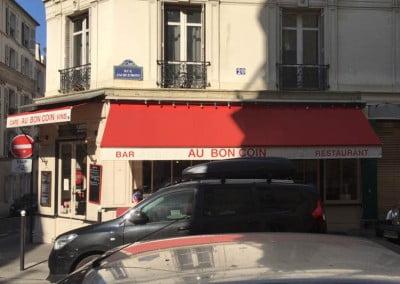 Travaux de rénovation d'un restaurant à Paris