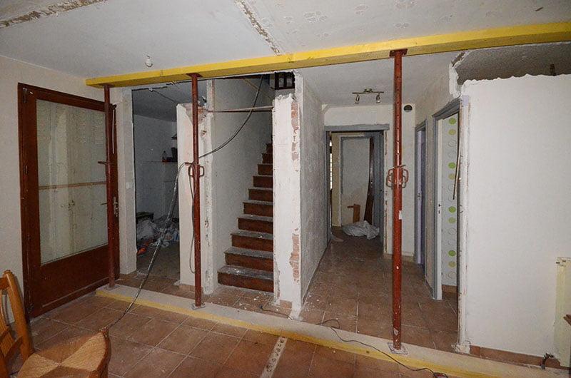 Travaux de rénovation de comble d'une maison à Ezanville