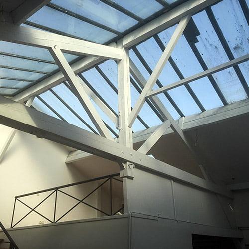 Aménagement d'un loft atelier d'artiste à Montreuil