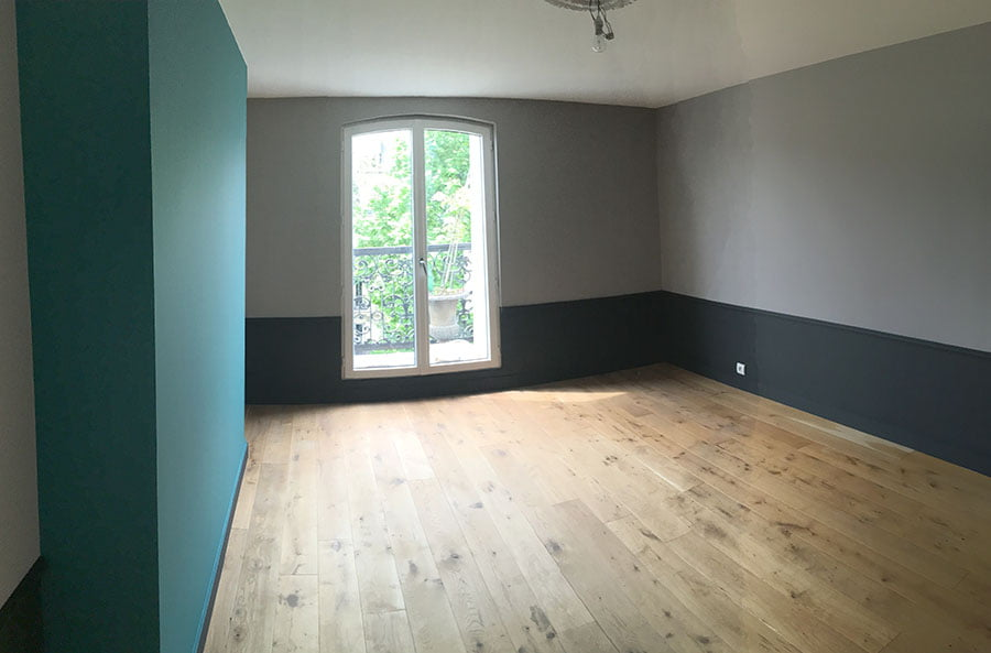 Travaux d'isolation et de rénovation d'un appartement à Paris 10e
