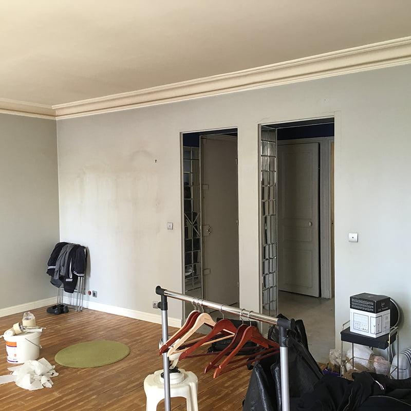 r novation d 39 un appartement paris 11e drop. Black Bedroom Furniture Sets. Home Design Ideas