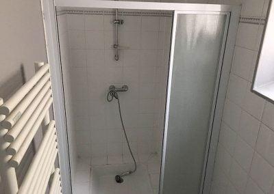 Douche avant travaux