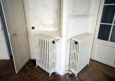 Position des radiateurs