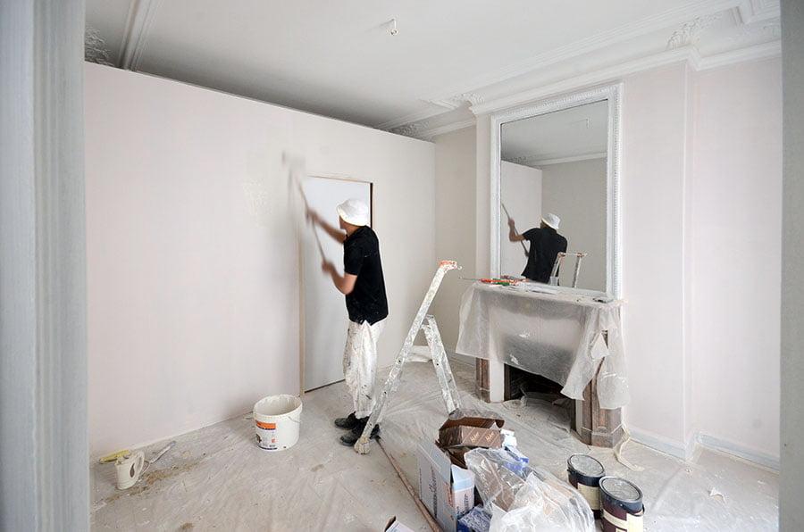 Travaux de r novation d 39 un grand appartement paris 15 drop - Peinture farrow and ball avis ...