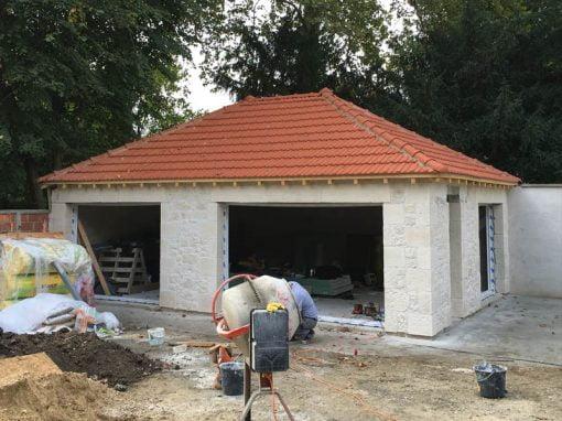 Construction d'une dépendance atelier d'artiste et bureaux à Saint-Maur