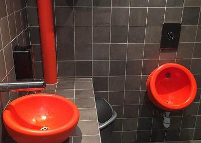 Création toilettes PMR
