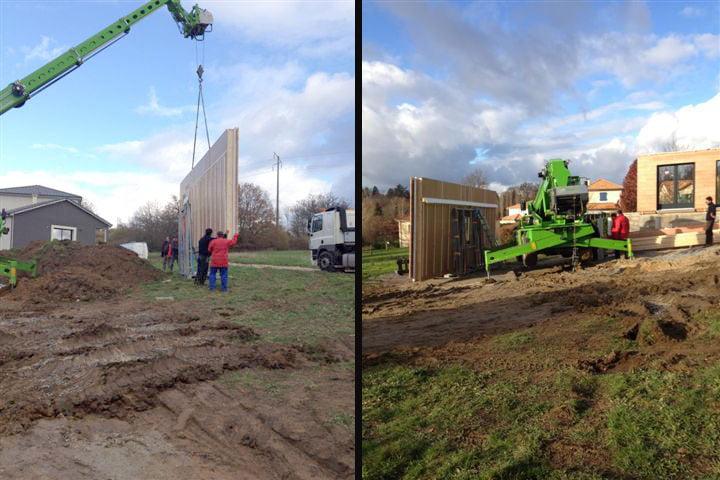 Les tapes de construction d 39 une maison bois de a z for Montage maison bois