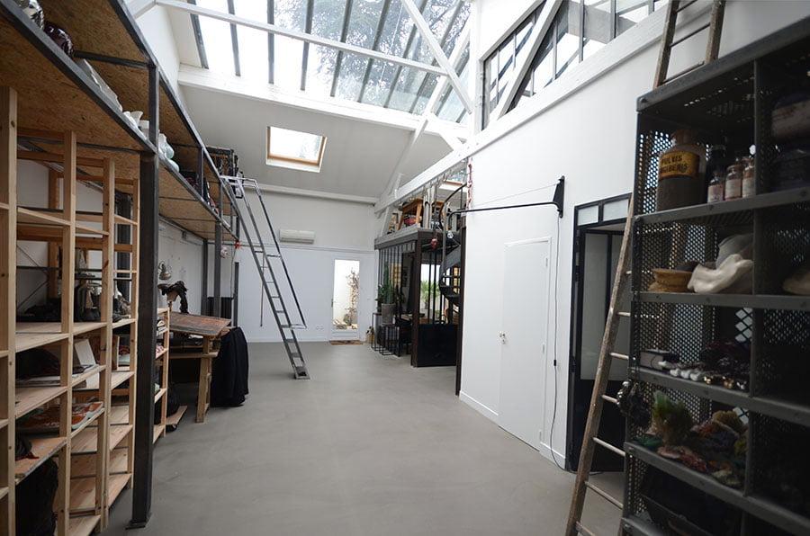 Travaux r novation am nagement construction entreprise for Loft atelier artiste