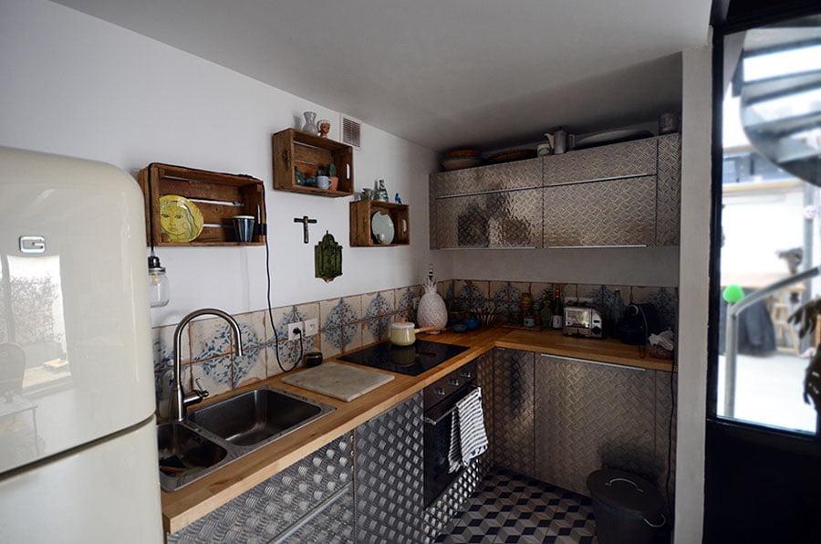 Travaux d'aménagement de cuisine