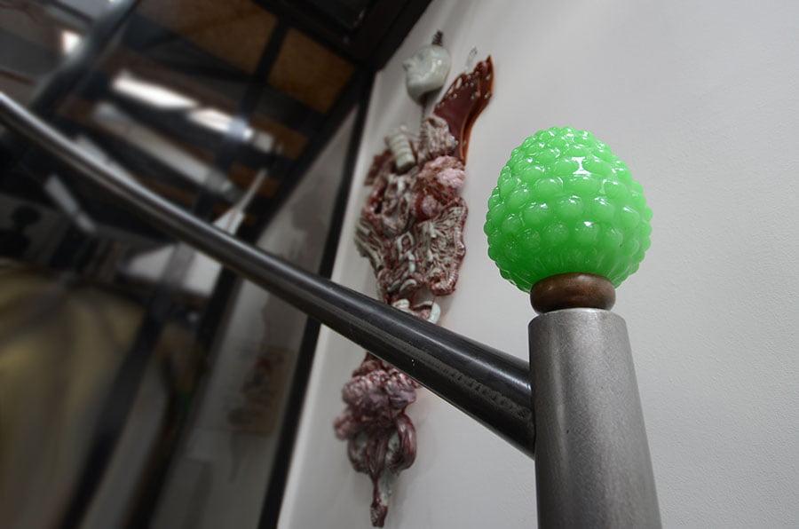 Travaux d'aménagement d'un escalier acier en colimaçon