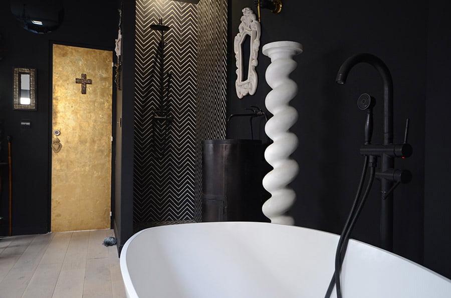 Travaux de création de salle de bain