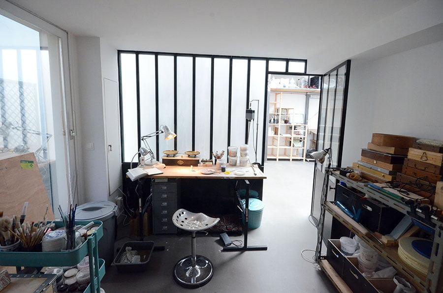 Travaux de rénovation d'une maison à Montreuil