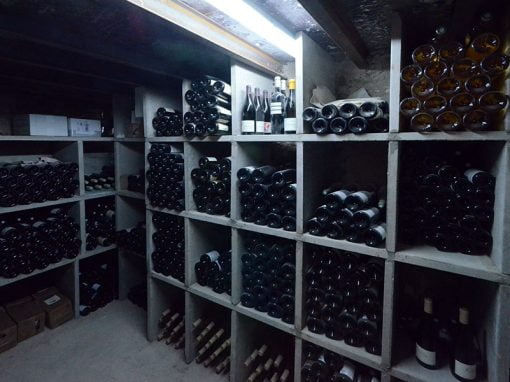 Travaux d'agrandissement d'une cave à vin d'un restaurant