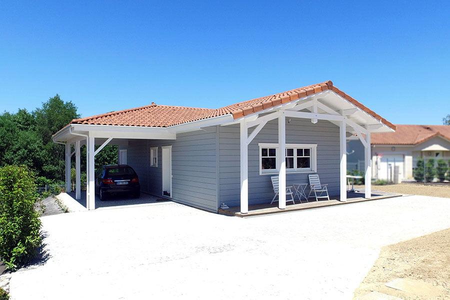 Construction d'une maison de vacances