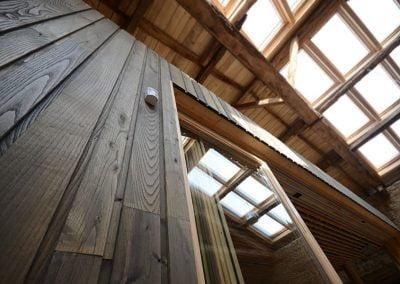 Construction à ossature bois