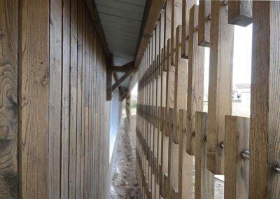 Construction d'extension en bois