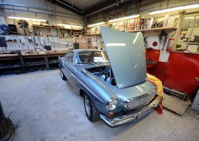 Aménagement d'un atelier de rénovation automobile à Montreuil