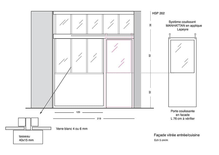 travaux d 39 am nagement d 39 une cuisine saint germain en laye drop. Black Bedroom Furniture Sets. Home Design Ideas