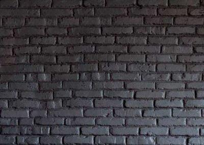 Plaquette parement brique peinte