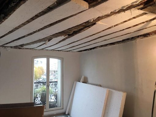 Rénovation : reprise de structure et isolation d'un appartement parisien
