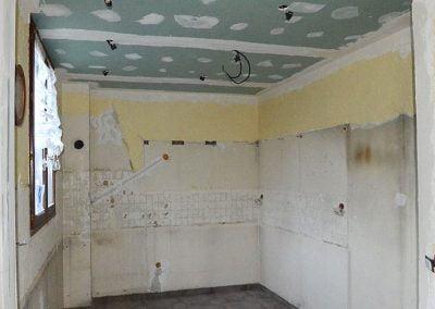 Création d'un faux plafond