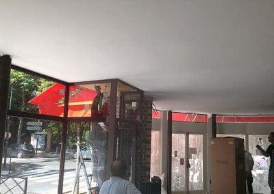 Plafond tendu fini
