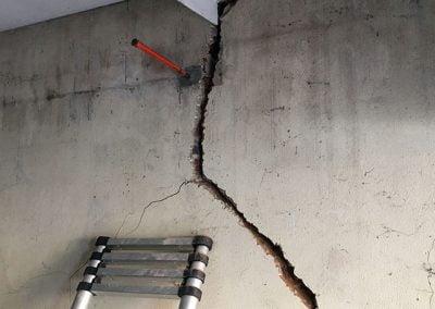 Travaux de réparation et consolidation d'un garage à Nanterre