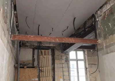Plafond en BA13 sur suspentes