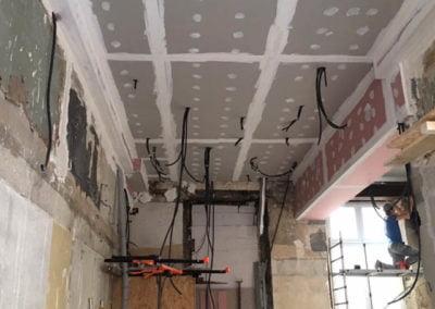 Plafond en BA 13