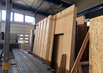 Stockage et numéritation des panneaux