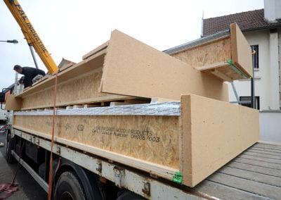 Panneaux de toiture préfabriqués