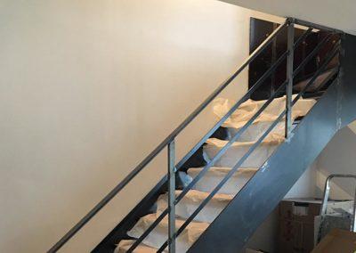 L'escalier monté